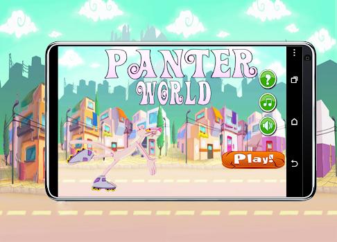 Panter Skater In Pink World