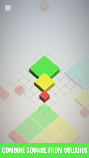 Isometric Squared Squares - 2D/3D puzzle game  screenshots 1