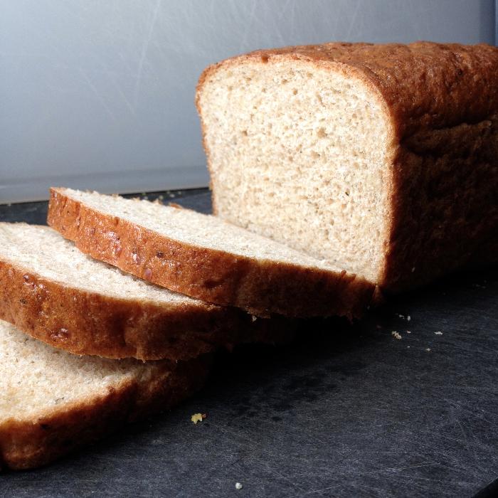 Vegan Multigrain Sandwich Bread Recipe