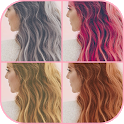 Hair color changer - Try different hair colors icon