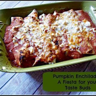 Pumpkin Enchiladas (Vegetarian, Gluten-Free Option)