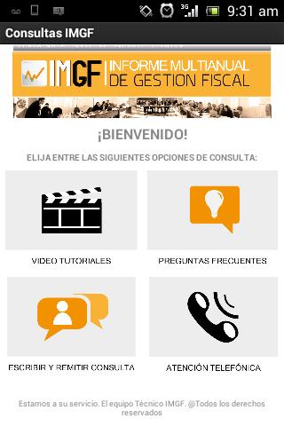 Consultas IMGF