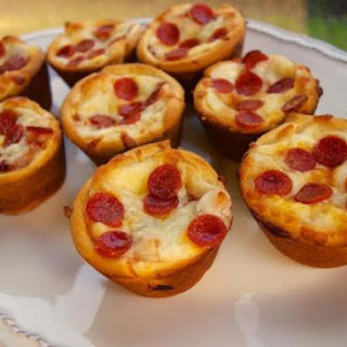 Mini-Pepperoni Pizza Puffs.