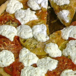 Michael Symon's Heirloom Tomato and Ricotta Tart