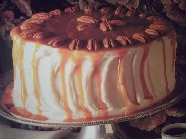 Pumpkin Pecan Torte Recipe