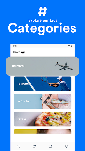 Hashtags for Instagram 1.1.0 screenshots 2