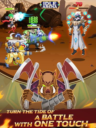 Idle Arena - Clicker Heroes Battle 5007 screenshots 17