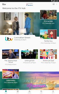 ITV Hub Screenshot