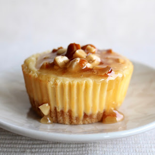 Honey Almond Gouda Cheesecake
