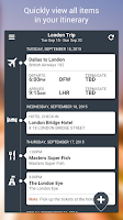 Screenshot of TripCase – Travel Organizer