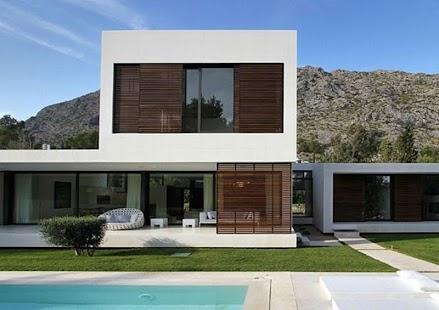 House design modern minimalist home.