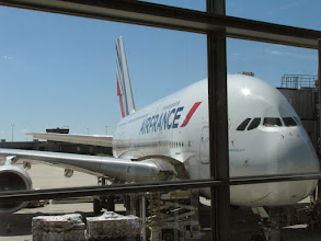 Photo: Depart from Dulles, Sep 14, taking the new A381. It is gigantic.