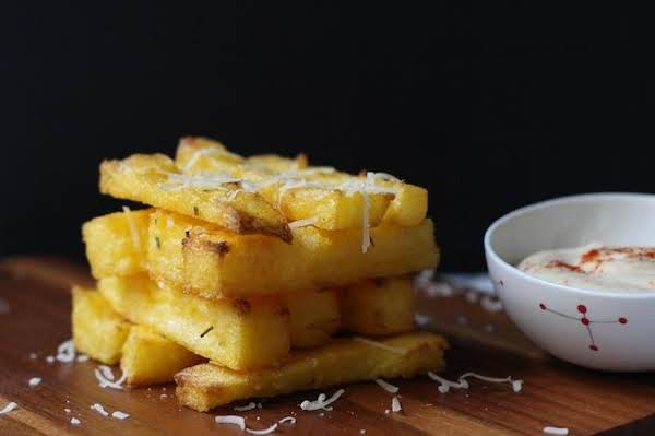 Crispy Baked Polenta Fries Just A Pinch Recipes