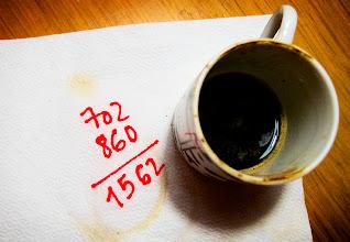 Photo: objectiu complert abans i tot d'acabar el segon cafè del matí