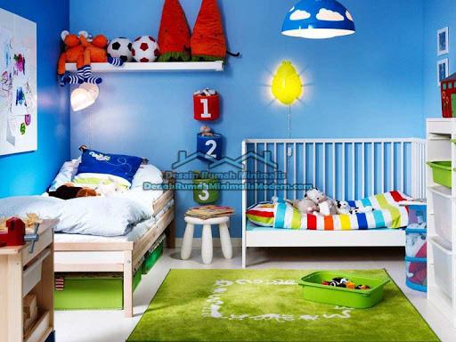 자녀의 침대 룸 디자인