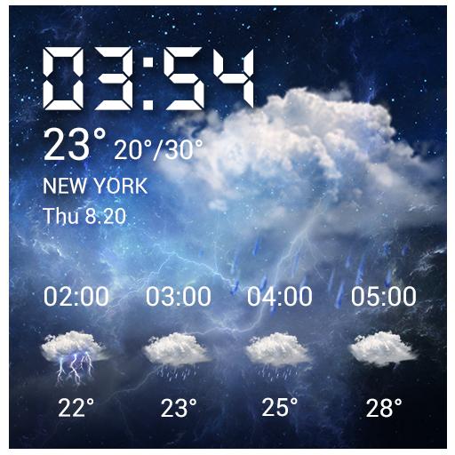 Free Weather Forecast Widget&local Weather widget