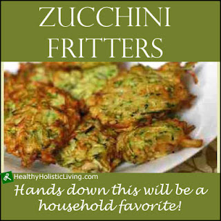 Zucchini Fritter with Avocado Dill Dip