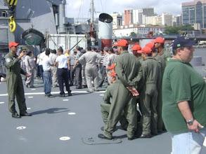 Photo: Começando a saida do Arsenal de Marinha no Rio