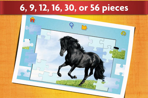 Horse Jigsaw Puzzles Game - For Kids & Adults ud83dudc34 apktram screenshots 13