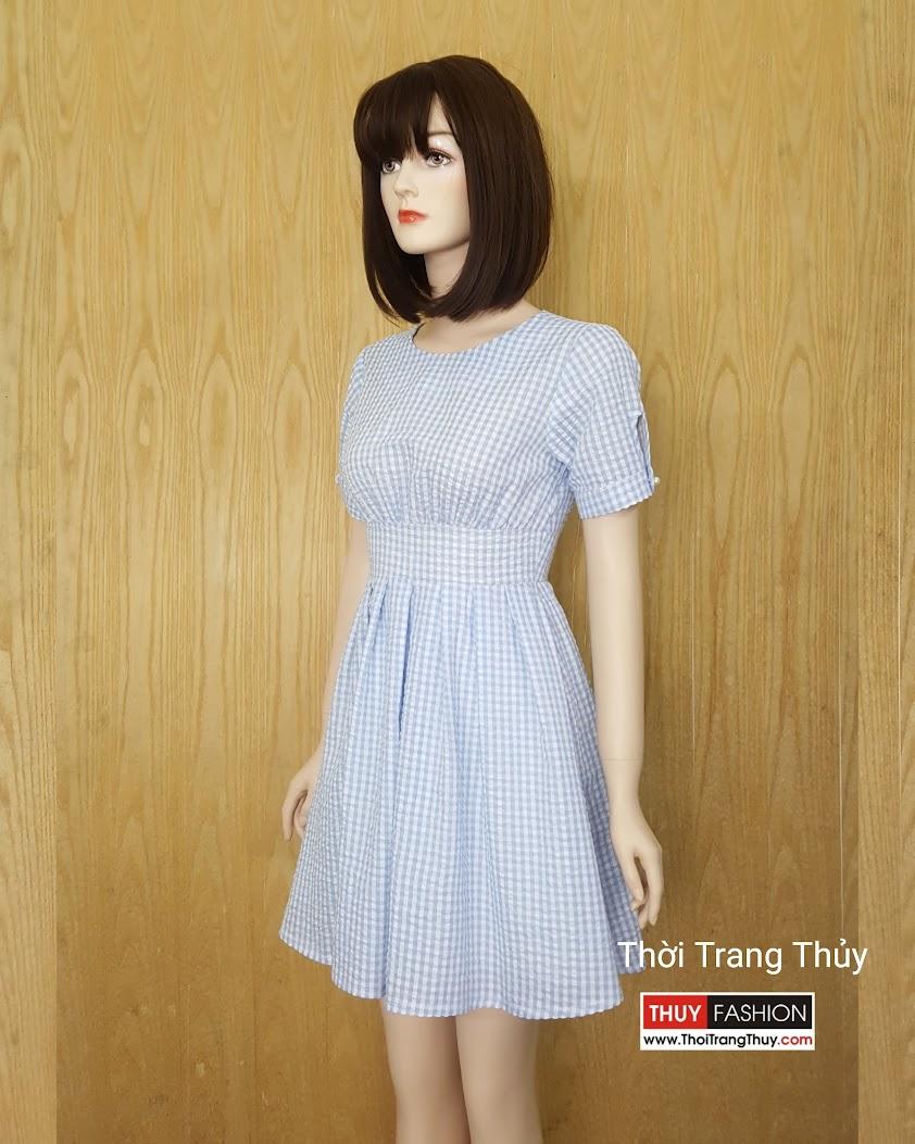 Váy xòe xếp ly Thời Trang Thủy Hải Phòng