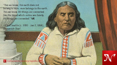 Photo: This we know; the earth does not belong to man; man belongs to the earth. This we know. All things are connected like the blood which unites one family. All things are connected. —Chief Seattle (c. 1780 - Jun 7, 1866), Duwamish Chief