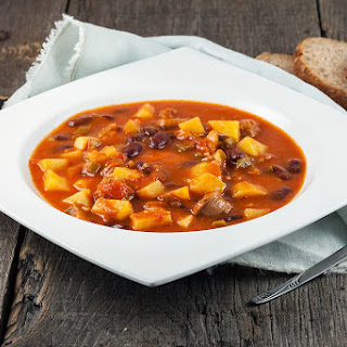 Vegetable, Bean And Sausage Soup