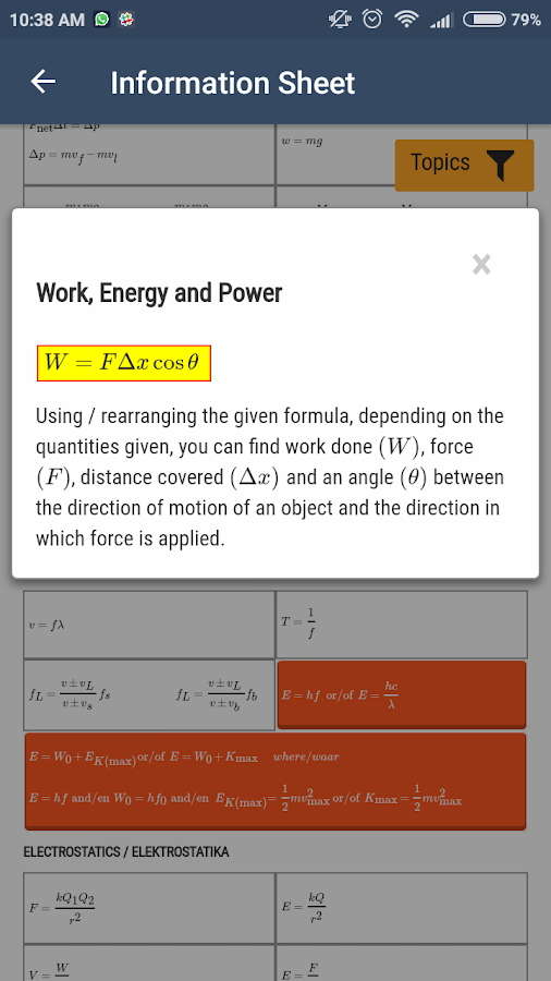 NSC Exam Prep - Phy. Sciences- screenshot