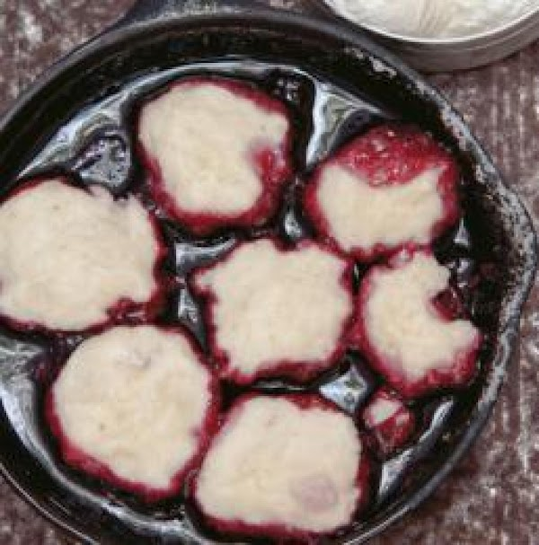 Place remaining berries and the sugar in a medium heavy-bottomed saucepan. Add 3-4 tablespoons...