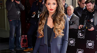 Megan McKenna's house is burgled