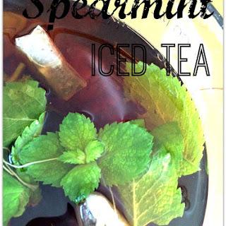 Spearmint Iced Tea.