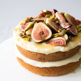 Honey Earl Grey Fig Cake.