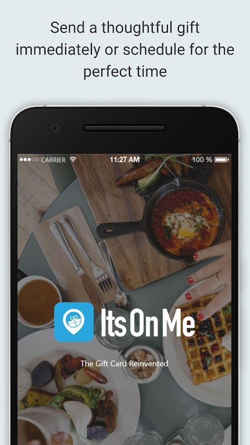 ItsOnMe: eGift Cards On-Demand- screenshot
