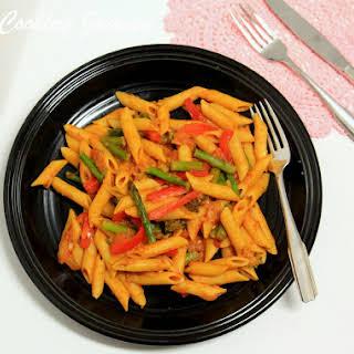 Pasta Primavera – Spring Vegetable Pasta.