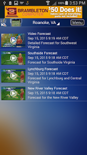 WSLS Weather- screenshot thumbnail