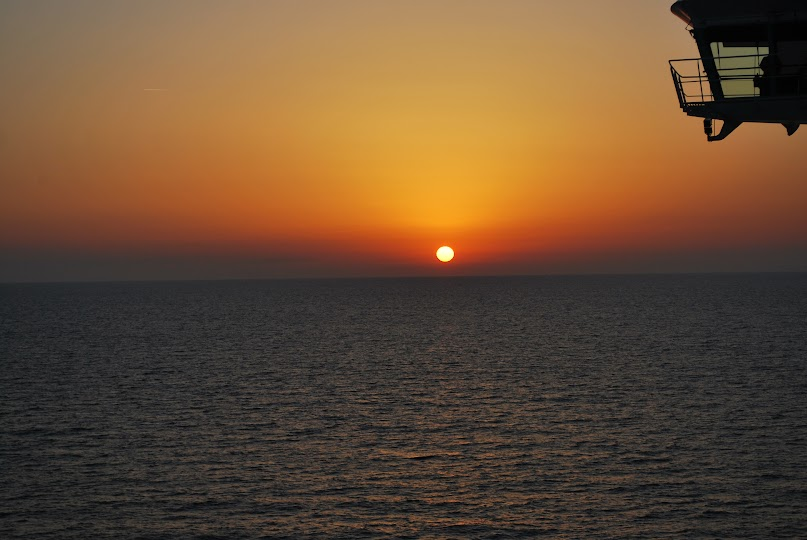 Sunset, Royal Caribbean Cruise, Navigator of the Seas