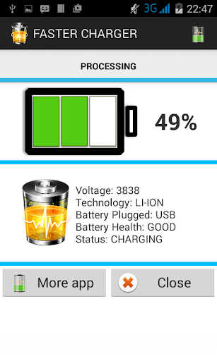 Fast charging - Faster charger