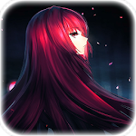 Anime Live Wallpaper of Scathach (スカサハ) Icon