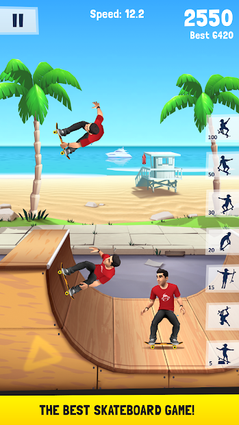 Flip Skater Android App Screenshot