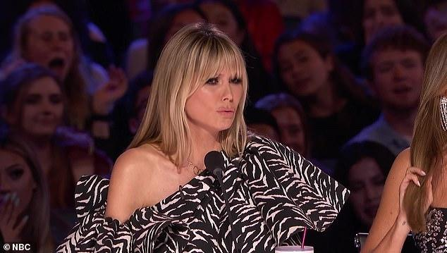 America's Got Talent' Fans Accuse Heidi Klum Of 'bullying And Body-shaming' Contestant