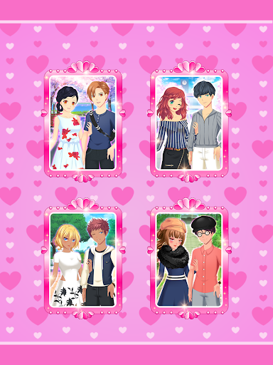 Anime Couples Dress Up Game android2mod screenshots 11