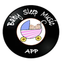 Baby Sleep Music App icon