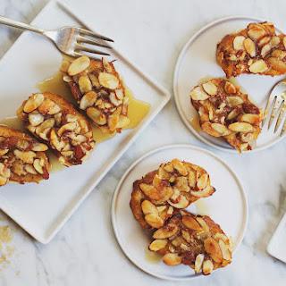 Vanilla Almond Baked French Toast