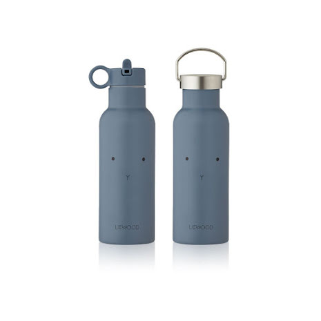 Liewood Neo Water Bottle - 500ml - Rabbit blue wave