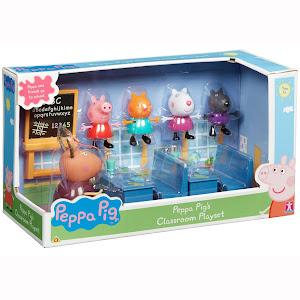Set figurine Peppa Pig - la scoala