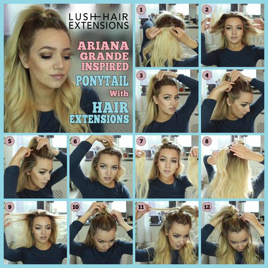 Ariana grande hair tutorials hairdo videos how to get