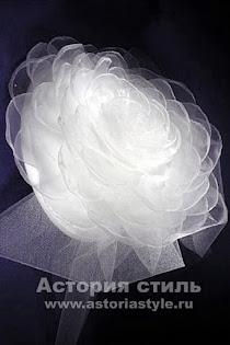 Свадебная шляпка 504