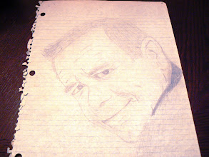 Photo: Sketch of Glenn Ford