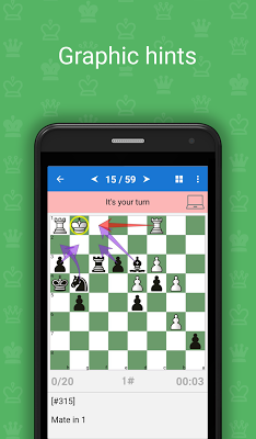 Mate in 1 (Free Chess Puzzles) - screenshot