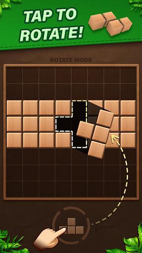 Fill Wooden Block 8x8: Wood Block Puzzle Classic  screenshots 2