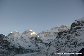 Photo: les Twins et le Kanchenjunga 8586 m